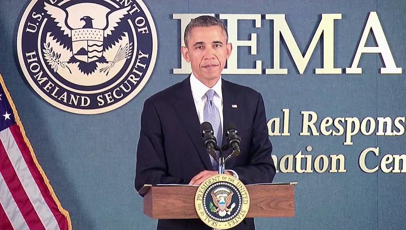 Resultado de imagen para OBAMA FEMA